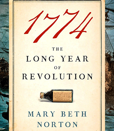 "Book cover of ""1774: The Long Year of Revolution"""