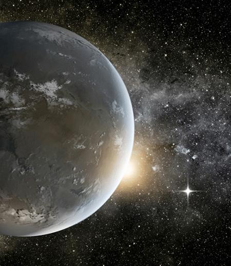 Exoplanet Kepler-62f