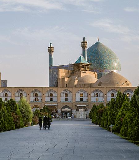 Iman's Square in Isfahan, Iran