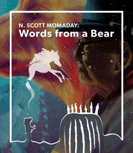 Illustration for the screening of the N. Scott Momaday: Words From a Bear documentary