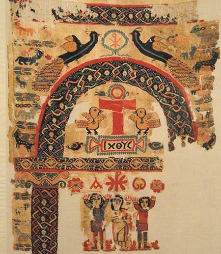 Ancient wall hanging