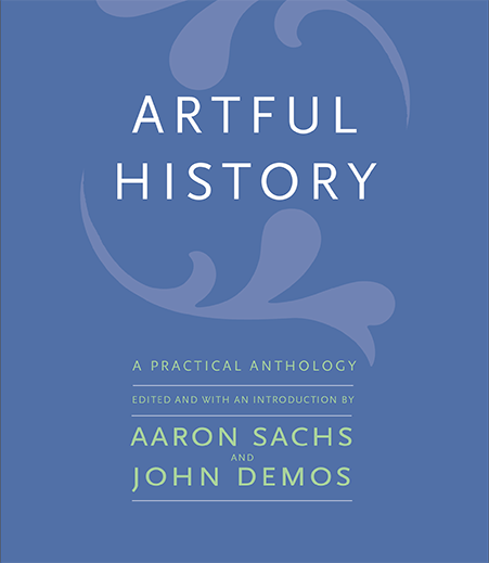 Blue book cover: Artful History