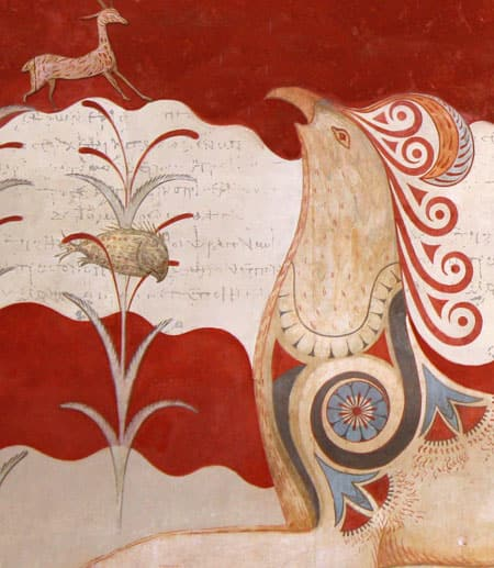 Animal images from ancient manuscript