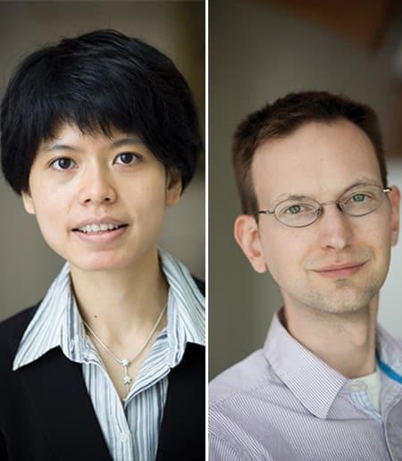 Yimon Aye (left) and David Mimno (right)