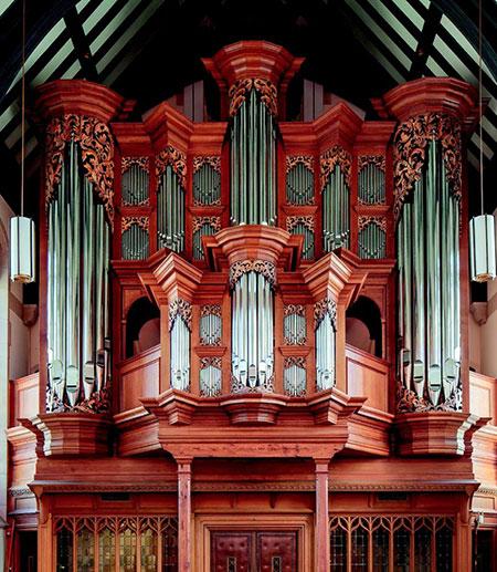 Cornell's baroque organ