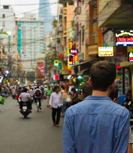China street scene
