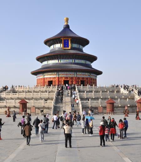 Public square in China