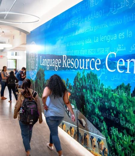 Language resource center