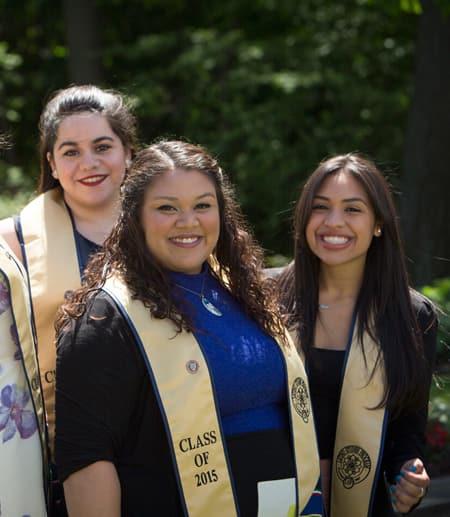 Engaged Cornell graduates