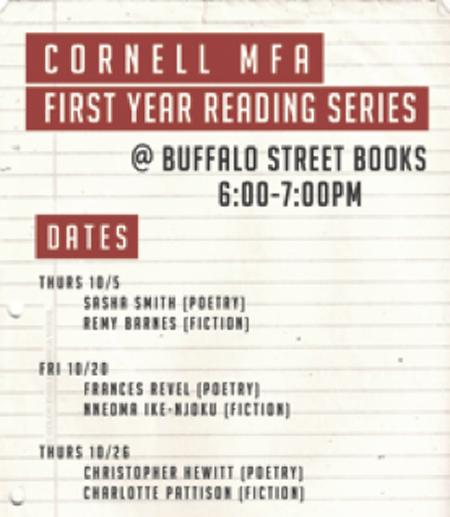 Cornell university mfa creative writing admissions