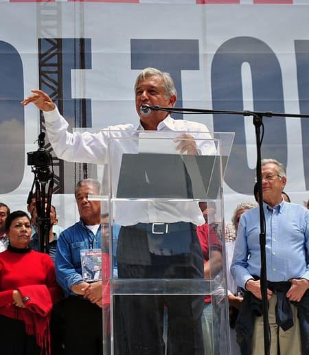 New Mexican President Obrador