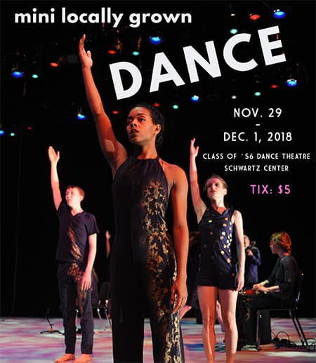 Locally grown dance fest poster