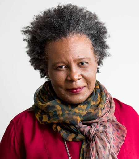 Poet and writer Claudia Rankine