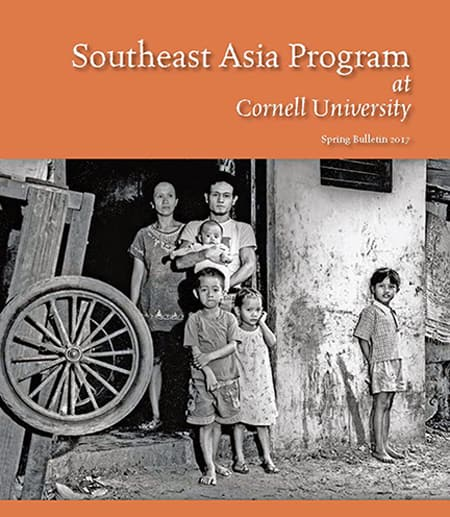 poster for the Southeast Asia Program with family in a farm