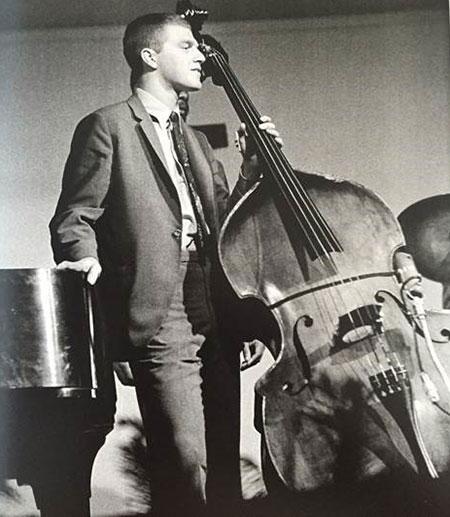 Scott LaFaro playing his bass