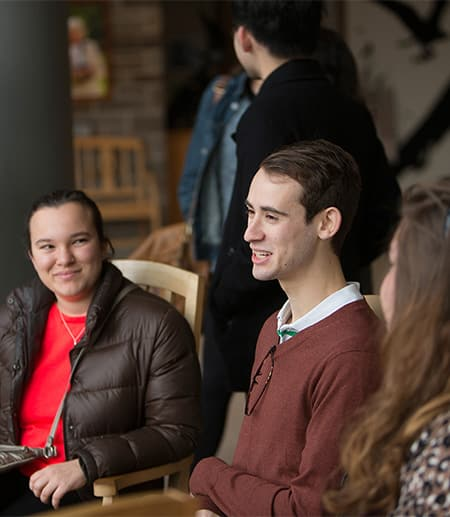 Students sitting in chairs