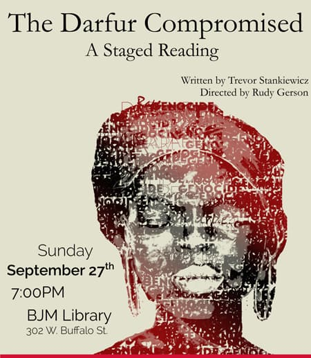 Poster for 'The Darfur Compromised'