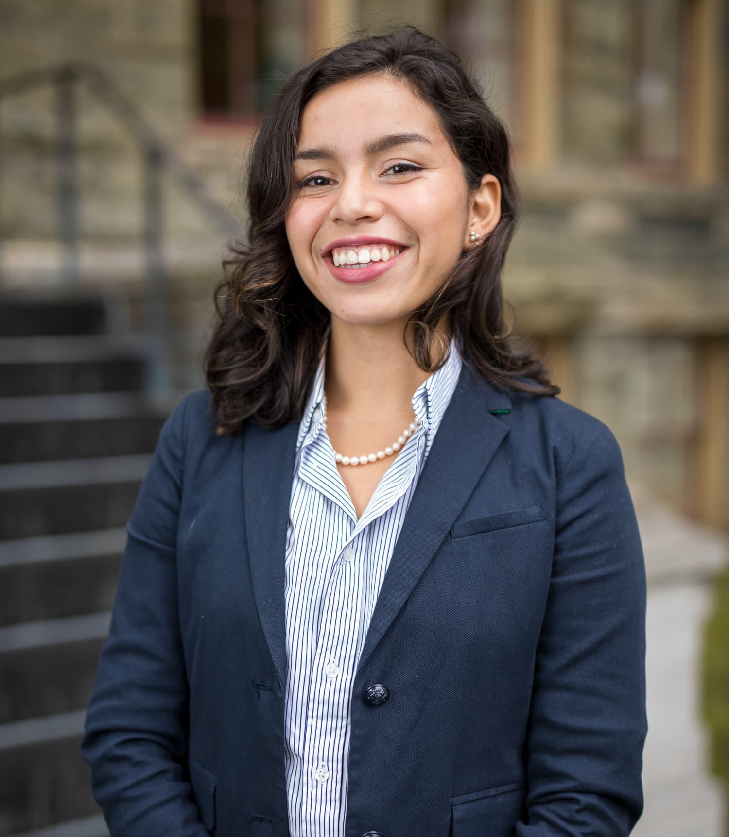 Headshot of Vanessa Rodriguez '18