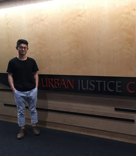 A&S student spends summer researching criminal justice abuses