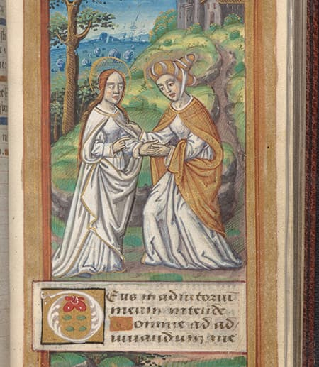 Book of Hours: Use of Rome, circa 1500. Division of Rare and Manuscript Collections