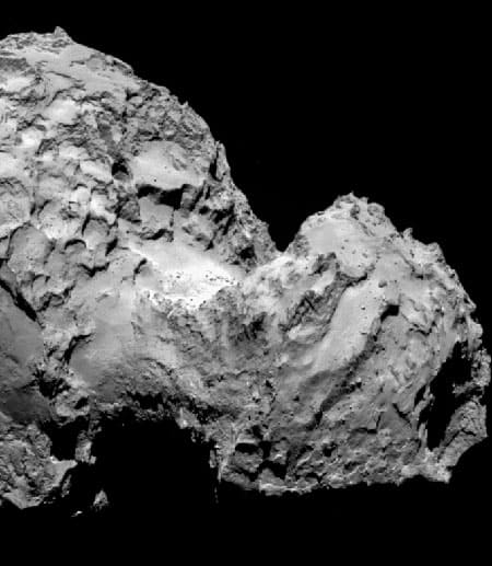 Comet 67P/Churyumov-Gerasimenko, NASA image