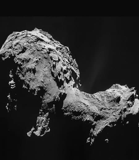 Comet Churyumov-Gerasimenko