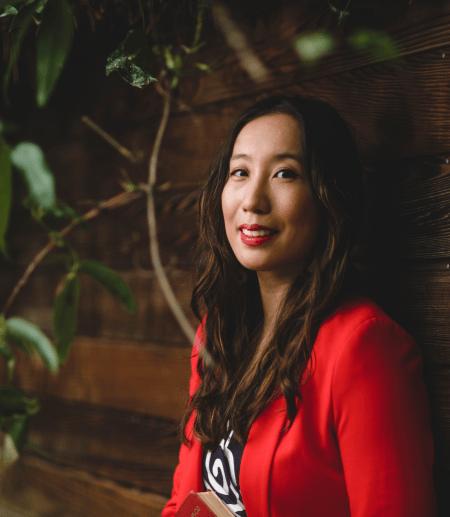 "Ph.D.  alumna Dr. Christine ""Xine"" Yao"