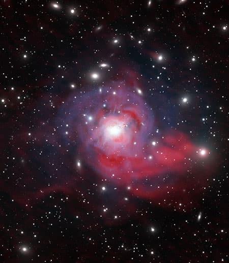 Perseus galaxy
