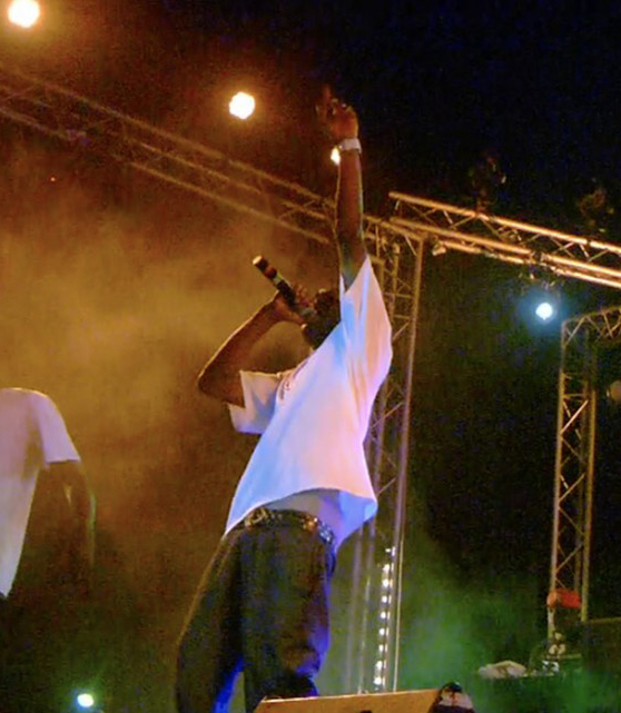 Hip hip concert in Senegal