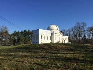 Fuertes Observatory on North Campus