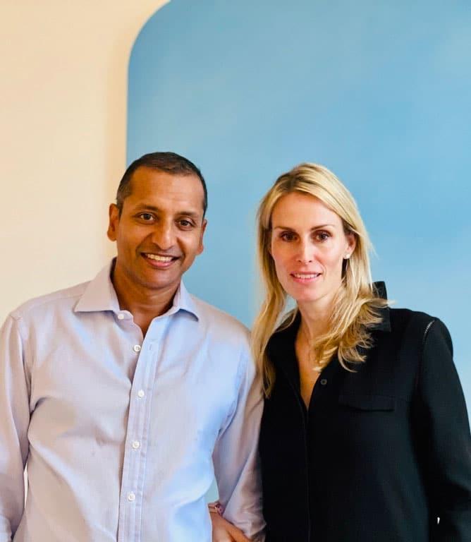 Robert and Carola Jain