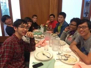 The Japanese crew