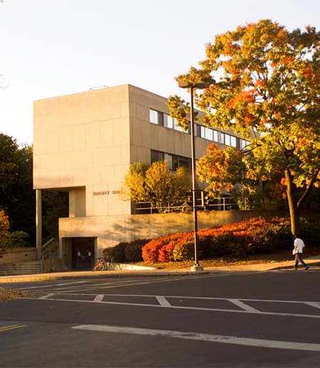 the math building