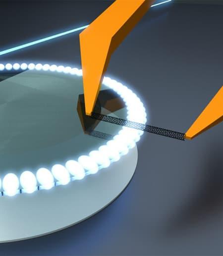 Nanoguitar rendering