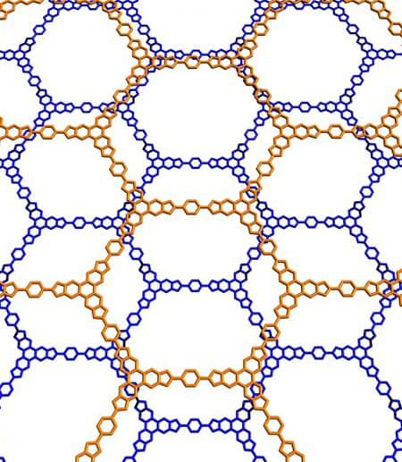 The mere presence of void or empty spaces in porous two-dimensional molecules and materials leads to markedly different van der Waals interactions across a range of distances.