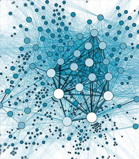 Diagram of a network