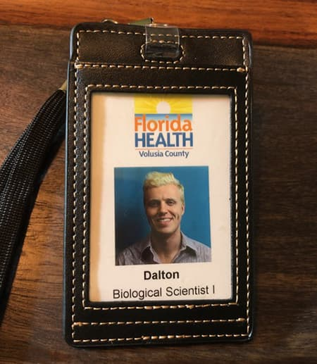 Dalton Price name badge