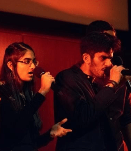 Tarana performing at their showcase