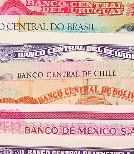 Latin American currency