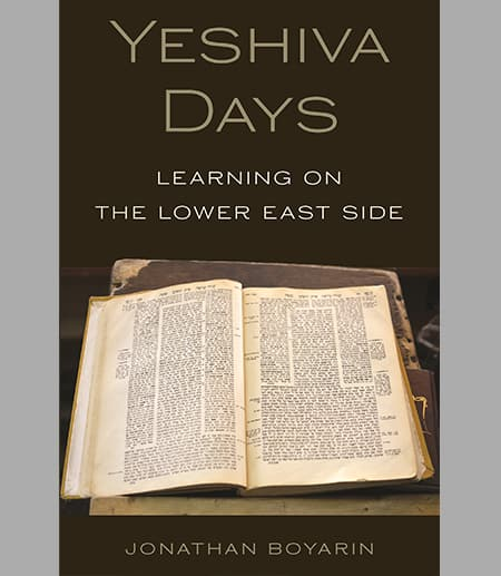 Book cover: Yeshiva Days