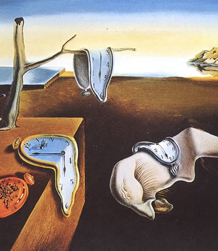 painting by Salvador Dali