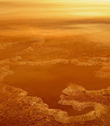 Lakes on Titan