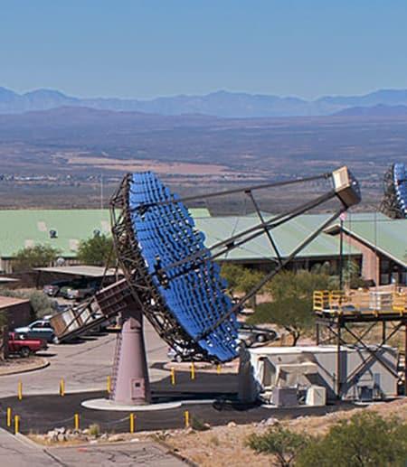 The Veritas telescope