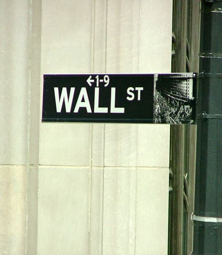 Wall Street Signs