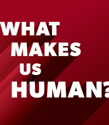 What Makes Us Human? logo
