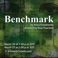 """Event poster: """"Benchmark"""""""
