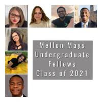 Collage of 2021 Mellon Mays fellows.