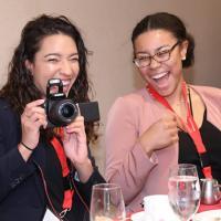 Students at OADI honors reception