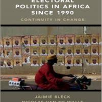 Electoral Politics in Africa Since 1990 book cover