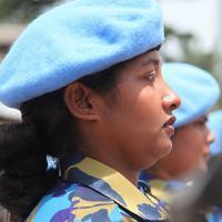 Bangladeshi female police officer
